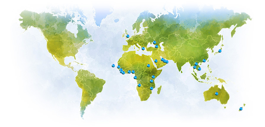 Our project footprint